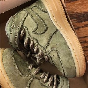 Olive Green Air Force 1